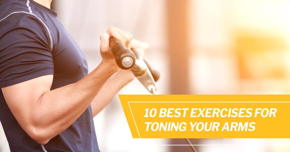 10 лучших упражнений для тонирования рук